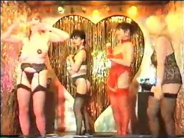 Stacey Owen and friends booby bushy dancing