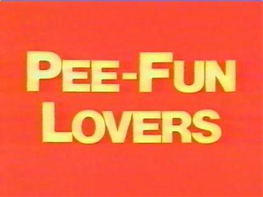 vintage - pee fun lovers - 01